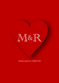 Heart Initial MR LINE Theme