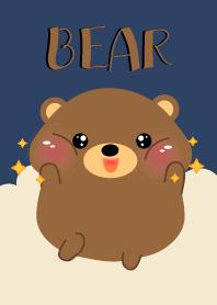 I Love Cute Brown Bear Theme