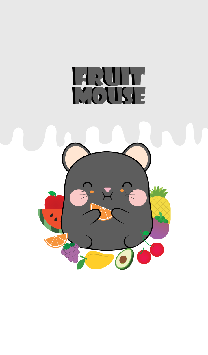 Black Mouse And Fruit Theme (jp)