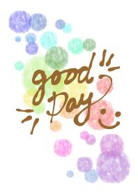 Watercolor Polka dot8 - smile24-