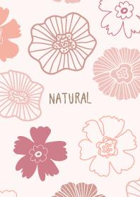 Darkish color flower bed Pink from Japan