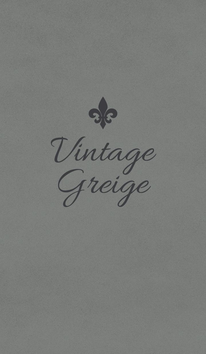 Vintage Greige.