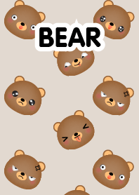 Emotions Face Bear Theme
