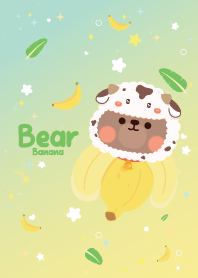 Bear Banana Lover