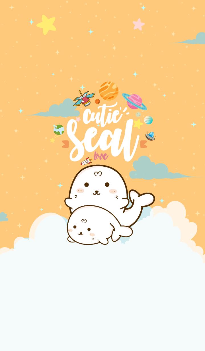 Seal Cutie Galaxy Custard
