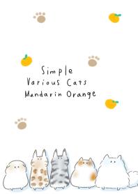 簡單的 各種貓 橘子
