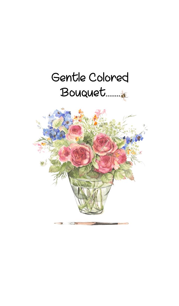gentle colored bouquet 3