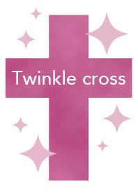 Twinkle cross(pink)