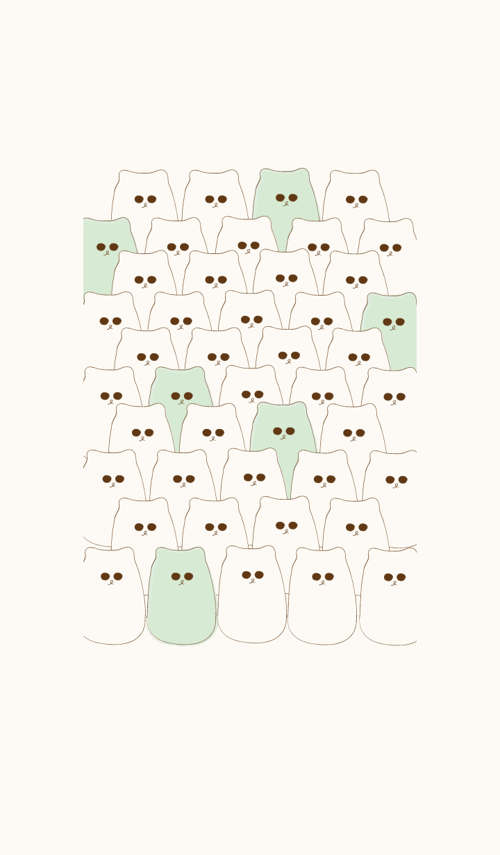 Group of cute meow meow 55