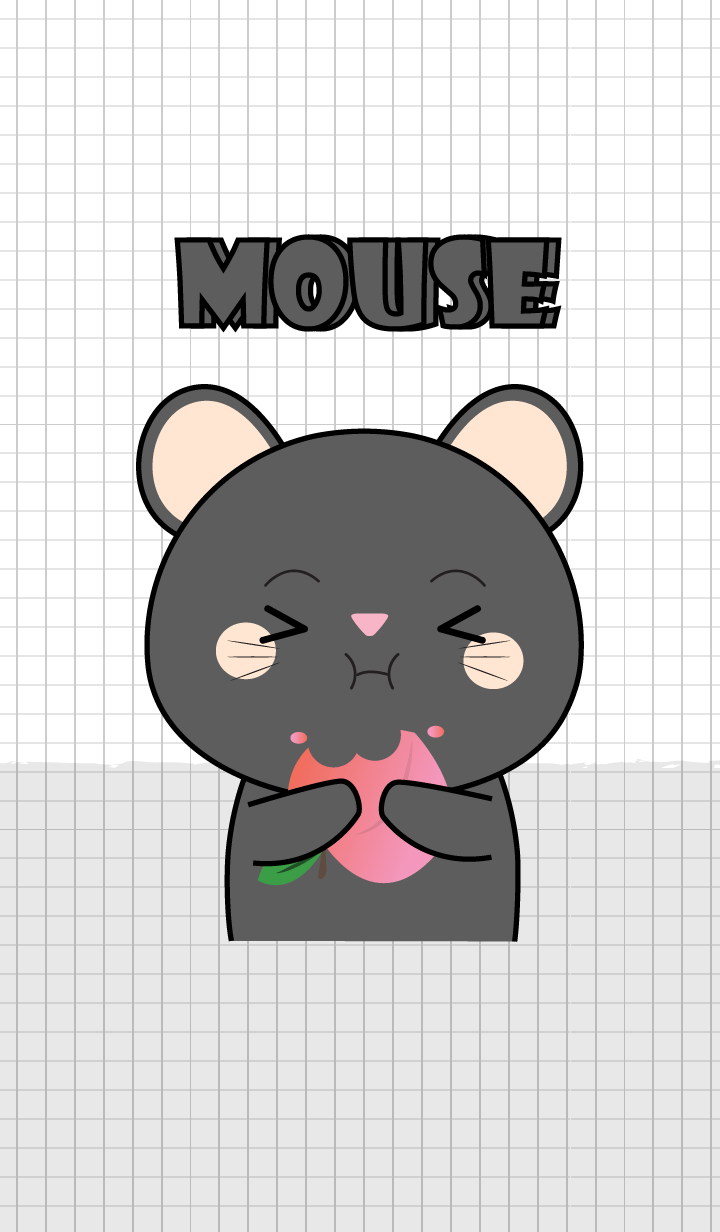 Minamal Black Mouse 2