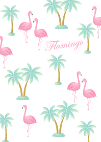 Flamingo Summer pinku