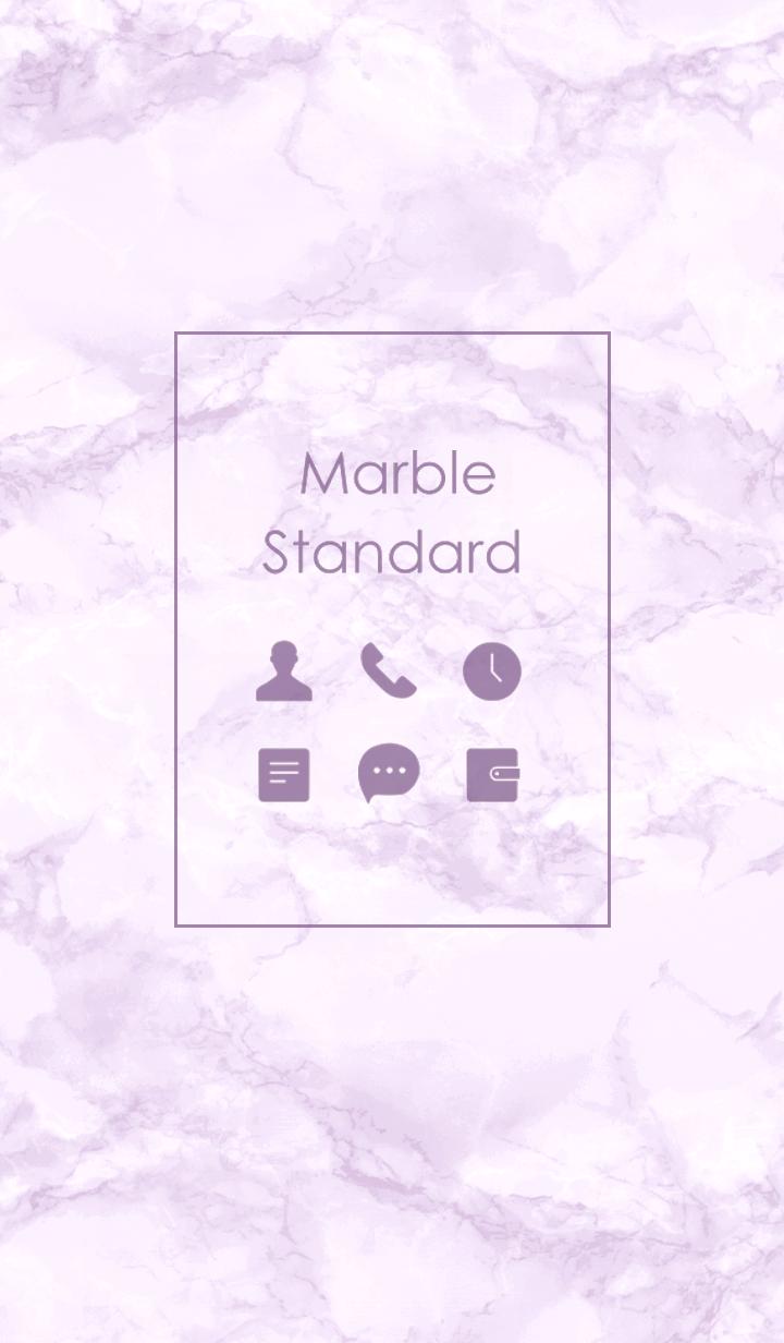 Marble Standard #Purple.