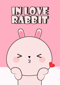 In Love Pink Rabbit