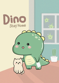 Dino Stay Home.