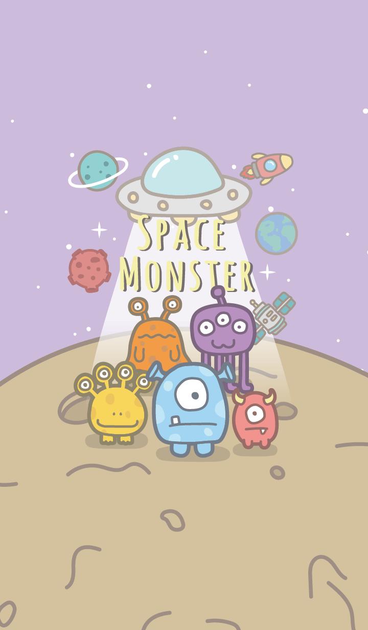 Space Monster #purple