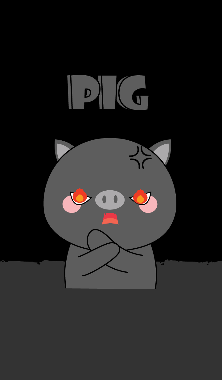 I'm Cute Black Pig (jp)