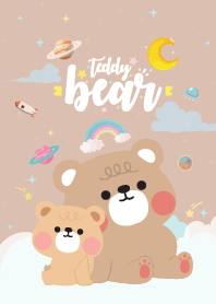 Teddy Bear Baby Galaxy Brown
