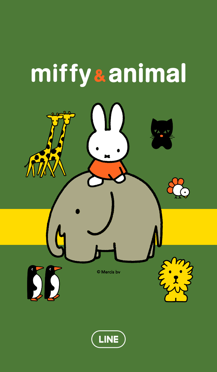 miffy&可愛動物