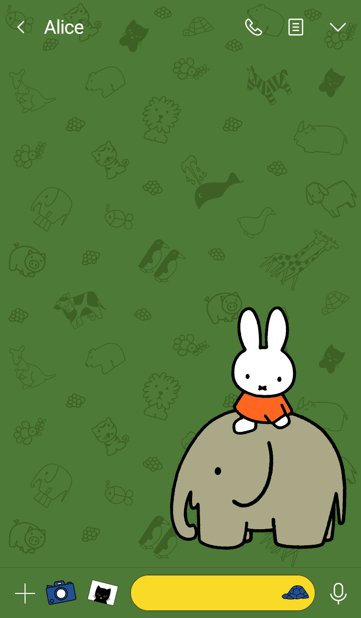 miffy&动物