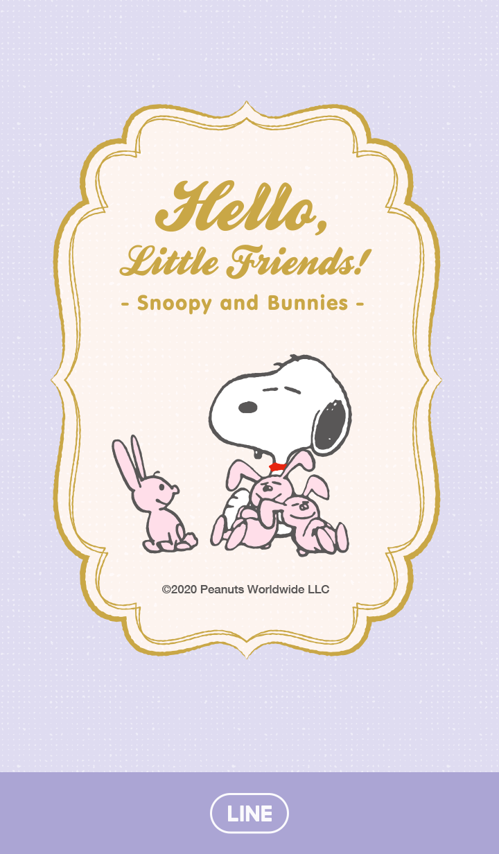 Snoopy and Bunnies