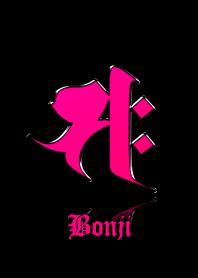 Zodiac Sanskrit [Saku] Pink.Black