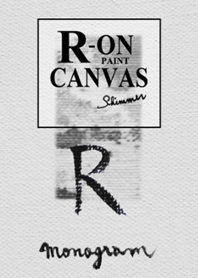 R on Canvas -Paint-