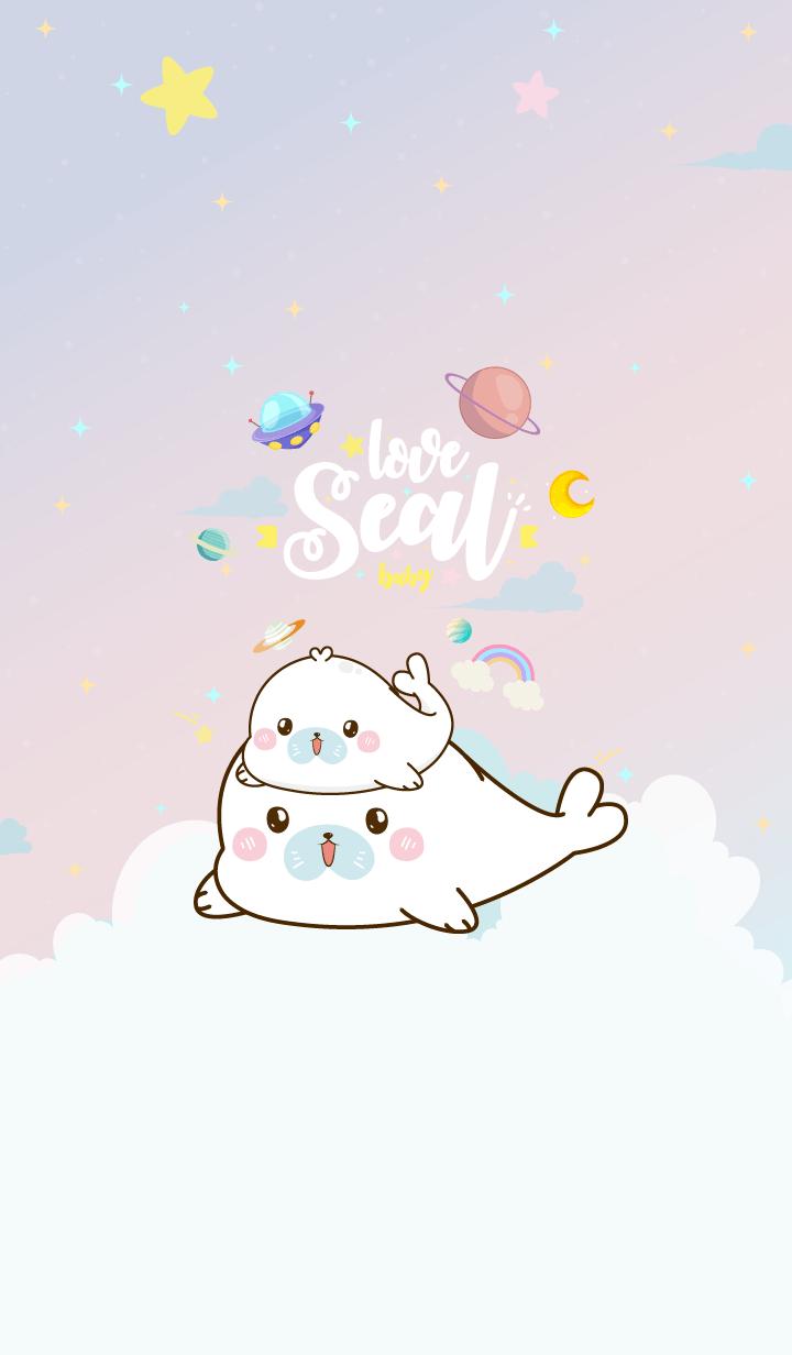 Seal Lover Pastel