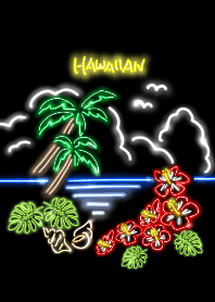 Neon Hawaiian 2