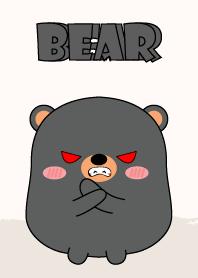 Emotions Fat Black Bear 2