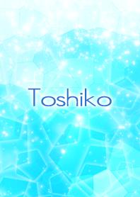 Toshiko Beautiful Blue sea Crystal