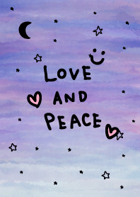 Watercolor night star and moon smile6
