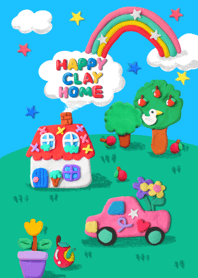 Happy clay home