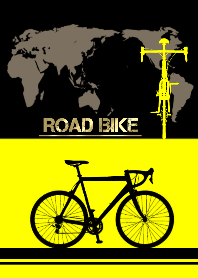 ROAD BIKE BLACK x YELLOW