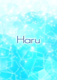 Haru Beautiful Blue sea Crystal