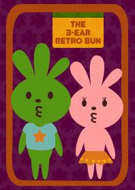 The 3-ear Retro Bun