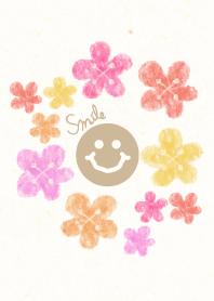 Adult watercolor flora3 - smile18-