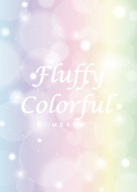 Fluffy Colorful