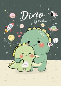 Dino Gotchi and Dino Green (Night Green)