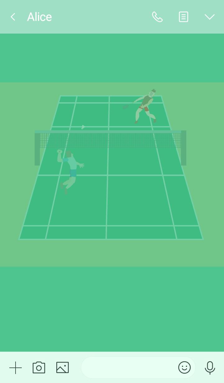 I love badminton! Various players