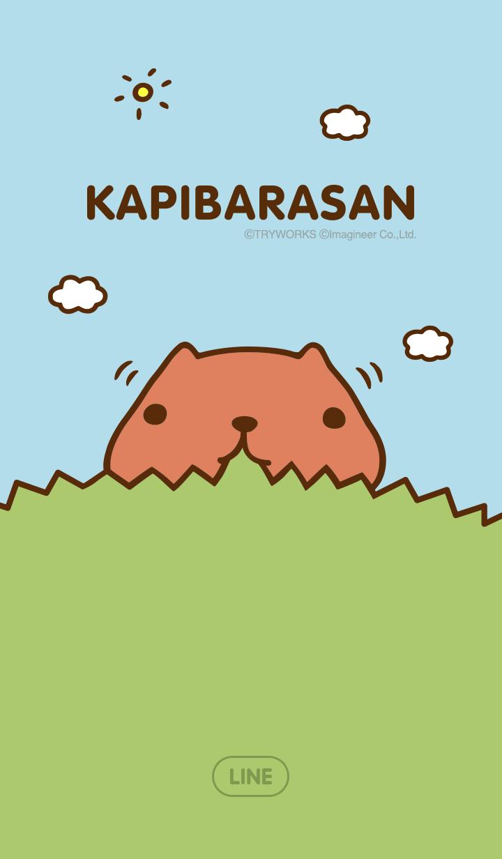 【主題】水豚君