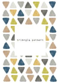 triangle pattern5- watercolor-