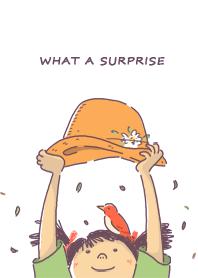 帽子女孩:Surprise!
