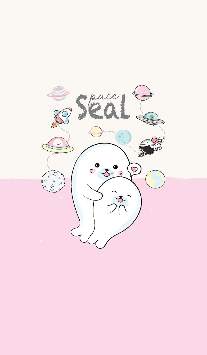 Seal pink space.