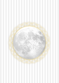 moonlight, space and stars