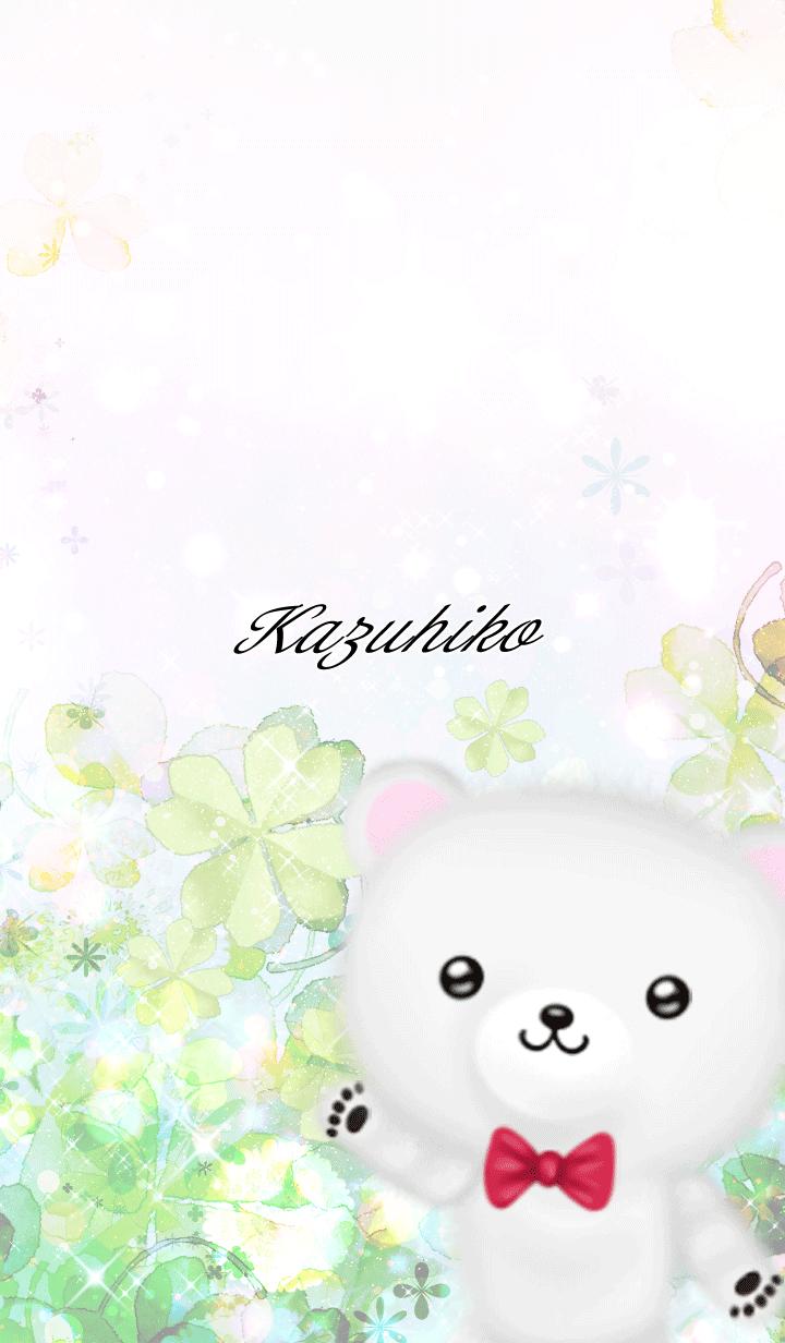 Kazuhiko Polar bear Spring clover