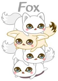 Arctic Fox as white as snow Theme 2