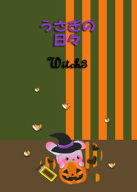 Rabbit daily(Witch3,Halloween)
