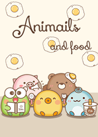 Animals and foods
