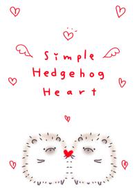 簡單 猬 心臟