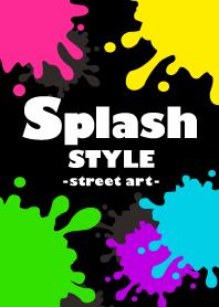 ธีมไลน์ SPLASH STYLE -street art-